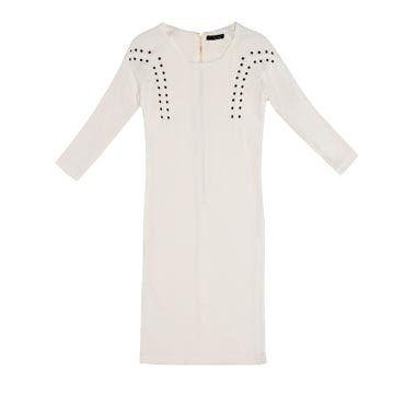 白色棉质连衣裙